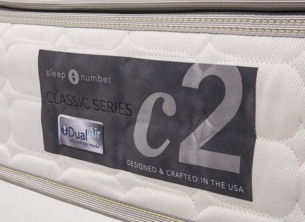 Sleep Number C2 Queen Mattress Adjustable Firmness Classic ...
