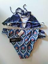 Tavik Monaco White Sand Reversible Triangle Bikini Set Size Large image 2
