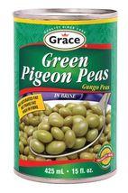 Grace Green Pigeon Peas 6 x 425g tins  - $59.99
