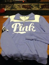 VS Pink Hoodie Zip Sweatshirt Size M pre owned EUC - $24.99