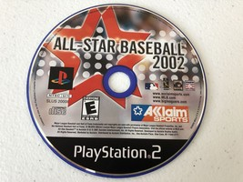 All-Star Baseball 2002 - Playstation 2 PS2 - Cleaned & Tested - $4.37