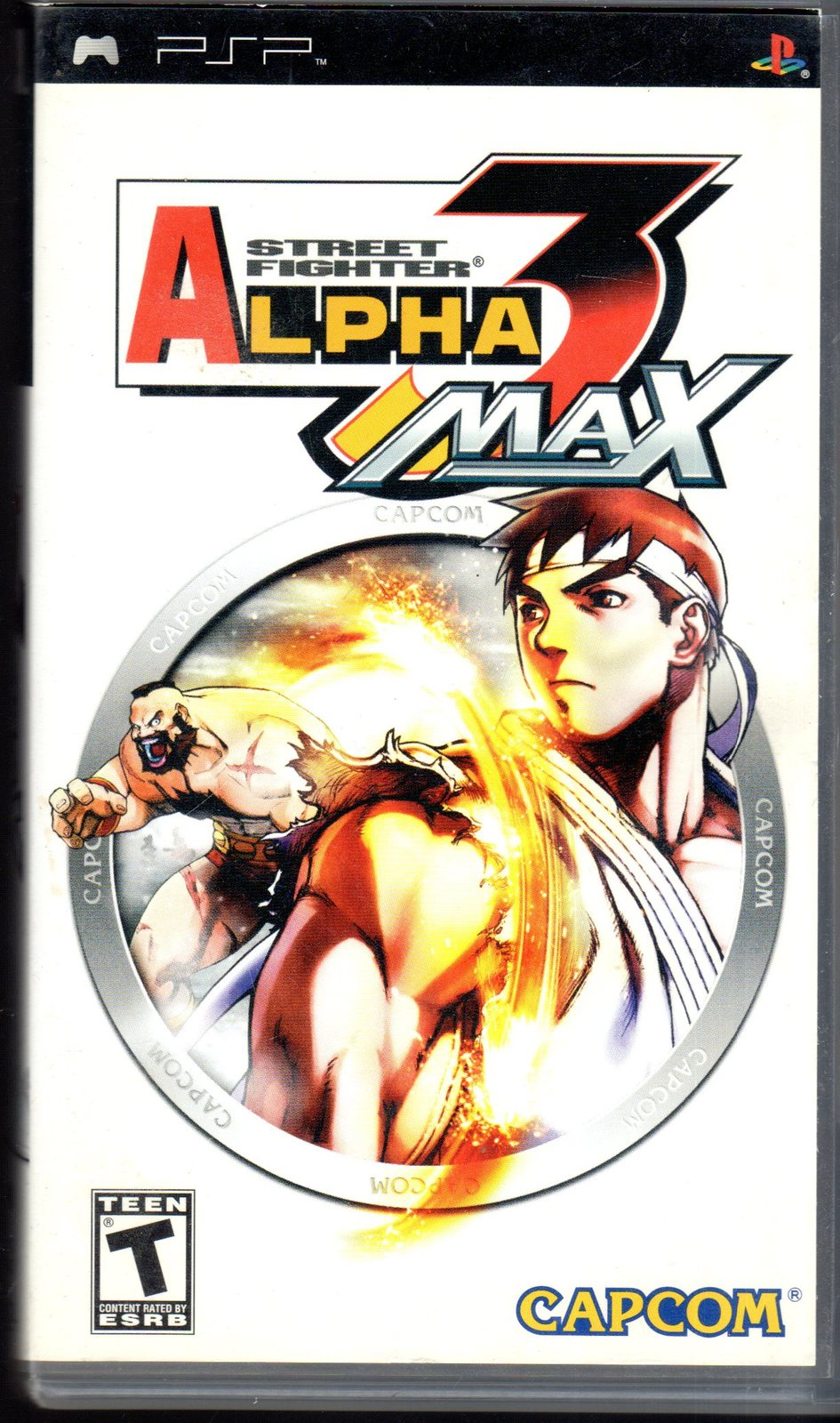 Primary image for Street Fighter Alpha 3 Max SONY PLAYSTATION Portable (PSP)