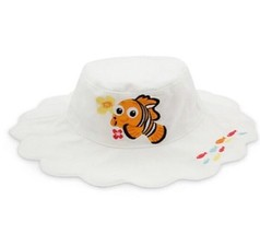 New Disney Store Finding Nemo Sun Bucket Swim Hat Size 6 - 12 Months  Ba... - $11.83