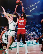 """Elvin Hayes Signed Houston Rockets Action vs Lakers 16x20 Photo w/ """"HOF ... - £53.48 GBP"""