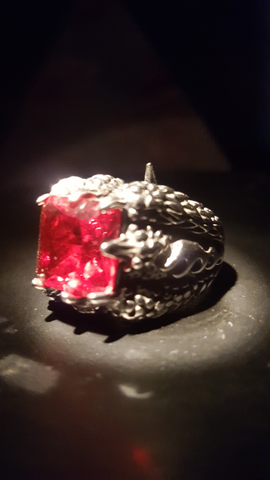 Haunted DJINN ring energy of the dragon djinn spirit to grant wishes voodoo  - $299.97