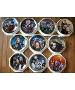 Star Trek The Next Generation The Episodes 10 plate collection.. - $350.00