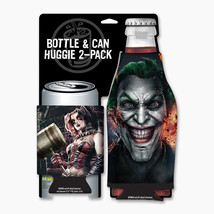 Harley Quinn and The Joker Gritty Can and Bottle Cooler Huggie Koozie 2 ... - $14.50