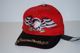 Christian Audiger Kids Fitted Youth Eagle And Rhinestone Hat - Size 6 1/2 - $18.99