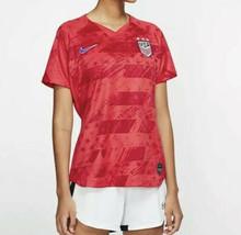 Nike Women's Soccer Jersey AJ4397-688 Size Medium Olympics Tokyo Red USA... - $48.99