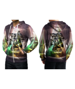 Hail Satanic Pentagram Hoodie Zipper For men - $49.99+