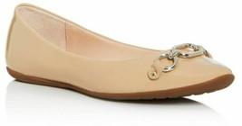 Kate Spade New York Women Ballet Flats Pauly US 10M Powder Beige Patent Leather - $148.50