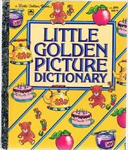 Little Golden Picture Dictionary (Little Golden Book) [Oct 01, 1982] - $2.97
