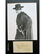 GUY WILLIAMS (ZORRO) ORIGINAL AUTOGRAPH WITH PHOTO..CLASSIC 60'S TV SERIES - $692.99