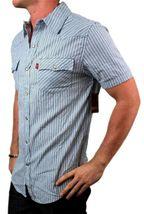 NEW NWT LEVI'S MEN'S COTTON CLASSIC SHORT SLEEVE BUTTON UP DRESS SHIRT 8150428 image 3