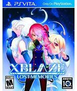 Xblaze Lost: Memories - PlayStation Vita [PlayStation Vita] - $18.47