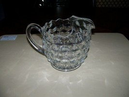 Vintage ~ Fostoria Line No: 2056 ~ Cubist Pitcher w/ Ice Lip ~ Clear Glass - $49.95