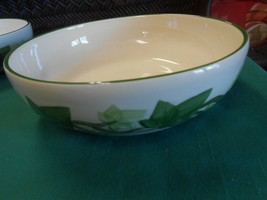 """Great Franciscan """"Ivy"""" Earthware..... Large Bowl 8"""" - $13.93"""