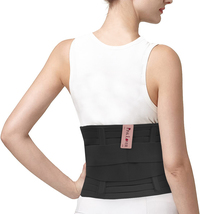 Women's Waist Belt for Lumbar Support Heavy Work Lift Exercise Relief Back Brace image 5