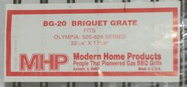Modern Home Products BG20 Replacement Briquet Grate Olympia image 4