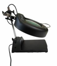 Industrial Vintage Adjustable Magnifying Desk Lamp Magnifier Light Magnify image 9