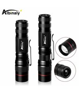 Albinaly® Portable LED Flashlight CREE Q5 2000 Lumens Torch Flashlight Z... - $5.43