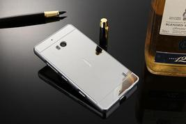 Lumia 930 Case Plating Mirror Aluminum Metal Bumper + Hard PC Back Cover For Mic image 4