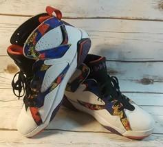 e34a2d56fb67a8 Air Jordan 7 VII Retro Men  39 s 705417-138 White MultiColor Shoes