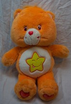 "Care Bears ORANGE LAUGH-A-LOT BEAR 13"" Plush Stuffed Animal 2003 - $19.80"