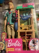 Barbie You Can Be Anything Ken Wild Life Vet - $29.05