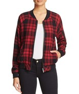Sanctuary Women's Dylan Plaid Long Jacket Red XS - $63.86