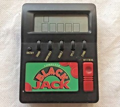 Waco Computer Blackjack 21 Casino Electronic Handheld Lcd Game Vintage S... - $5.95