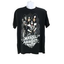 KISS Alive 35 Jerzees Mens XL T-shirt Tee Black SS Living Legends 2009  BM - $23.74