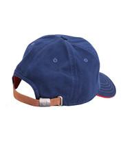 True Religion Men's Circle Patch Sports Solid Hat Baseball Strapback Cap image 4