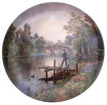 Danbury Mint Fly Fishing Gone Fishing Plate Graham Twyford - CP1683 - $36.95