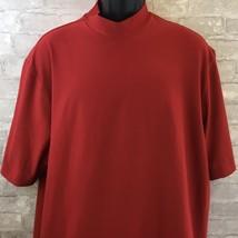 Mens NIKE GOLF Red Short Sleeve Dri-fit Size XL - $21.88