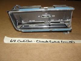 64 Cadillac DeVille Non-A/C HEATER CLIMATE COMFORT TEMPERATURE CONTROL A... - $149.99