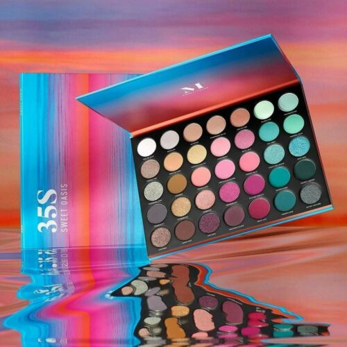 Authentic Morphe Sweet Oasis 35S Eye Shadow Palette New In Box