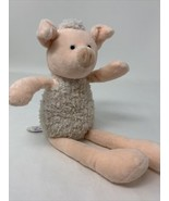 Mary Meyer Talls 'N Smalls Plush Pig Pink & Ivory Soft Toy Stuffed Anima... - $10.99