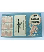1955 Tri-Boroughs Schedule Brooklyn Dodgers, New York Yankees, NY Giants... - $77.72