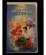 The Little Mermaid (VHS, 1990, Black Diamond Edition) RARE Banned Cover Art - $116.88