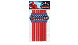 Marvel Ultimate Spiderman Party Straw Pack-18 ct - €3,51 EUR