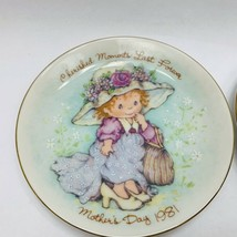 Vintage Avon Mothers Day Plates Set of 2 Years 1981 and 1982 Grandmillennial - $15.00