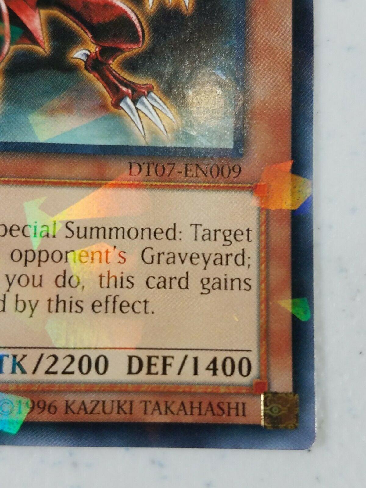 Yu-gi-oh! Trading Card - White-Horned Dragon - DT07-EN009 - Rare Parallel Rare