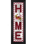 """""""HOME Maryland"""" With Flag and Crab 8 x 24 Framed Print - $39.95"""