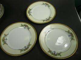 3 Noritake Modjeska   Bread Butter Plates Set of 3 Japan Vintage discontinued - $9.69