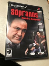 PlayStation 2 The Sopranos Road to Respect Video Game HBO PS2 Video Game CIB Ex - $14.80