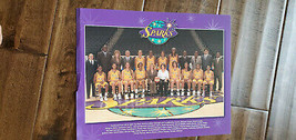 2007 LOS ANGELES SPARKS WNBA TEAM PHOTO MICHAEL COOPER THOMAS JOHNSON BR... - $7.99