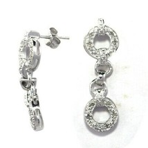 Shine Jewel 0.12 Ct Champegne Diamond Cluster Hook Wire Earring - $29.44