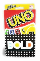 Mattel Uno andamp; Bold Card Games, Two Pack - $21.29