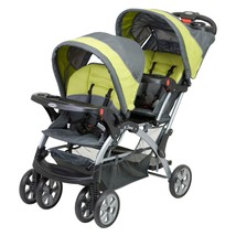 Sit And Stand Stroller Tandem Infant or Toddler Double Canopy Storage Ba... - $129.00